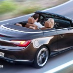 New Opel Cascada Cabriolet rear right Side View
