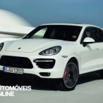 New Porsche Cayenne Turbo S front front left 2013