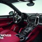 New Porsche Cayenne Turbo S interior view 2013