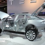 New Tesla model s-sedan chassis View electricar