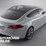 New Tesla model s-sedan rear right View electricar