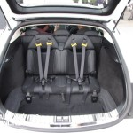 New Tesla model s-sedan rear seats View electricar