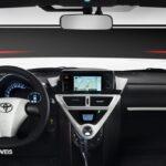 New Toyota iQ Eléctrico board comand View 2013