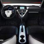 New Toyota iQ Eléctrico interior seats View 2013