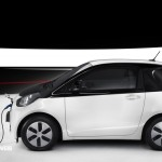 New Toyota iQ Eléctrico profile encharge View 2013