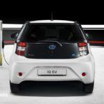 New Toyota iQ Eléctrico rear View 2013