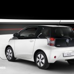 New Toyota iQ Eléctrico rear right View 2013