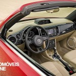 New VW Beetle Cabriolet 2013 left interior view