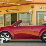 New VW Beetle Cabriolet 2013 profile view