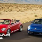 New VW Beetle Cabriolet 2013 road view