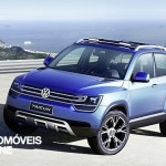 New Vw Taigun Concept front left 2013 view