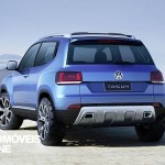 New Vw Taigun Concept rear right 2013 view