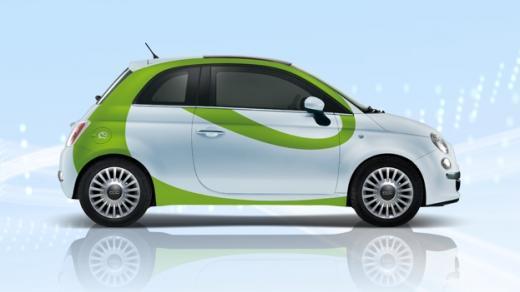 Novo! Fiat 500 eléctrico