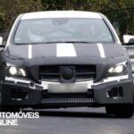 Novo Mercedes-Benz CLA 45 AMG Espiado a realizar testes front view