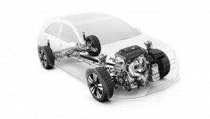 Novo Mercedes-Benz CLA 45 AMG sistema de tração integral às 4 rodas view