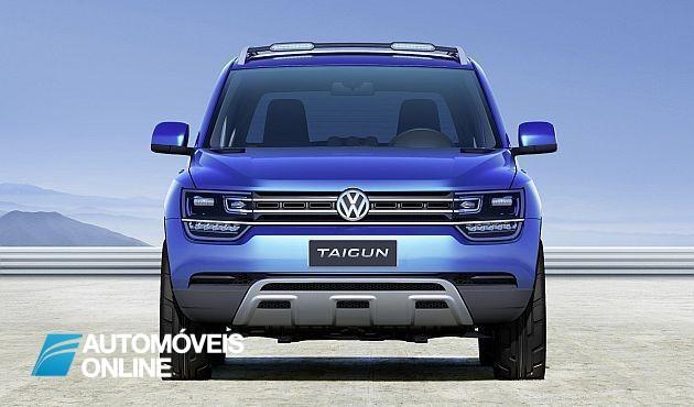 Novo! Volkswagen Taigun Concept