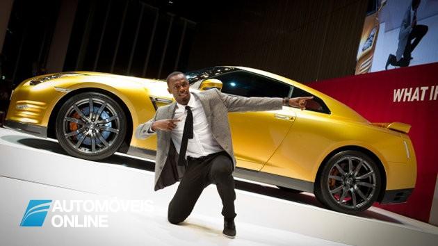 O que une Usain Bolt à Nissan?