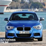new BMW M135i xDrive 2013 front view