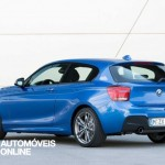 new BMW M135i xDrive 2013 left profile view