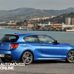new BMW M135i xDrive 2013 profile view