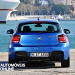 new BMW M135i xDrive 2013 rear view