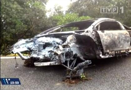Acidente Violento! Carro de Robert Kubica incendeia
