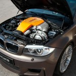 BMW Série 1M 600cv G-Power engine view