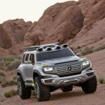 Concept-car Mercedes Ener-G-Force front right view L.A. Auto Show Design Challenge