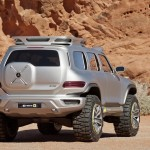Concept-car Mercedes Ener-G-Force rear view L.A. Auto Show Design Challenge