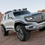 Concept-car Mercedes Ener-G-Force right profile view L.A. Auto Show Design Challenge