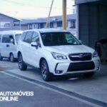 Em Flagrante! Novo Subaru Forester XT