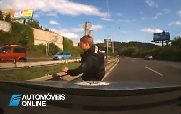 Espectacular! Perseguição policial em tempo real