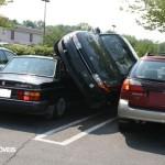 Estacionamento esquisito e insolito