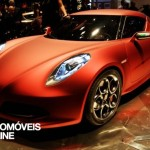 New Alfa Romeo 4C front view 2013