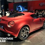 New Alfa Romeo 4C rear view 2013