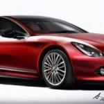 New Alfa Romeo Giulia profile font right