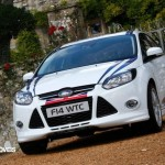 New Ford Focus WTCC 202cv road version front left view 2013