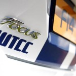 New Ford Focus WTCC 202cv road version logo view 2013