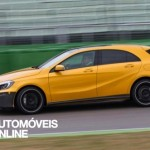 New Mercedes A45 AMG Profile view Kit Aerodinamique 2013