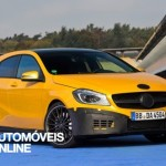 New Mercedes A45 AMG front view Kit Aerodinamique 2013