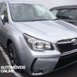 New Subaru Forester XT 2013 front view