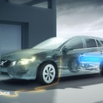 New Volvo V60 Híbrido 2013 Profile electric sistem file view