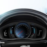New Volvo V60 Híbrido 2013 intruments panel view