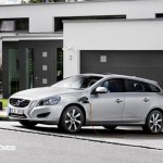 New Volvo V60 Híbrido 2013eletric file sistem view