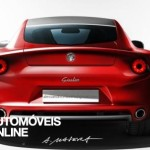Novo Alfa Romeo Giulia rear view
