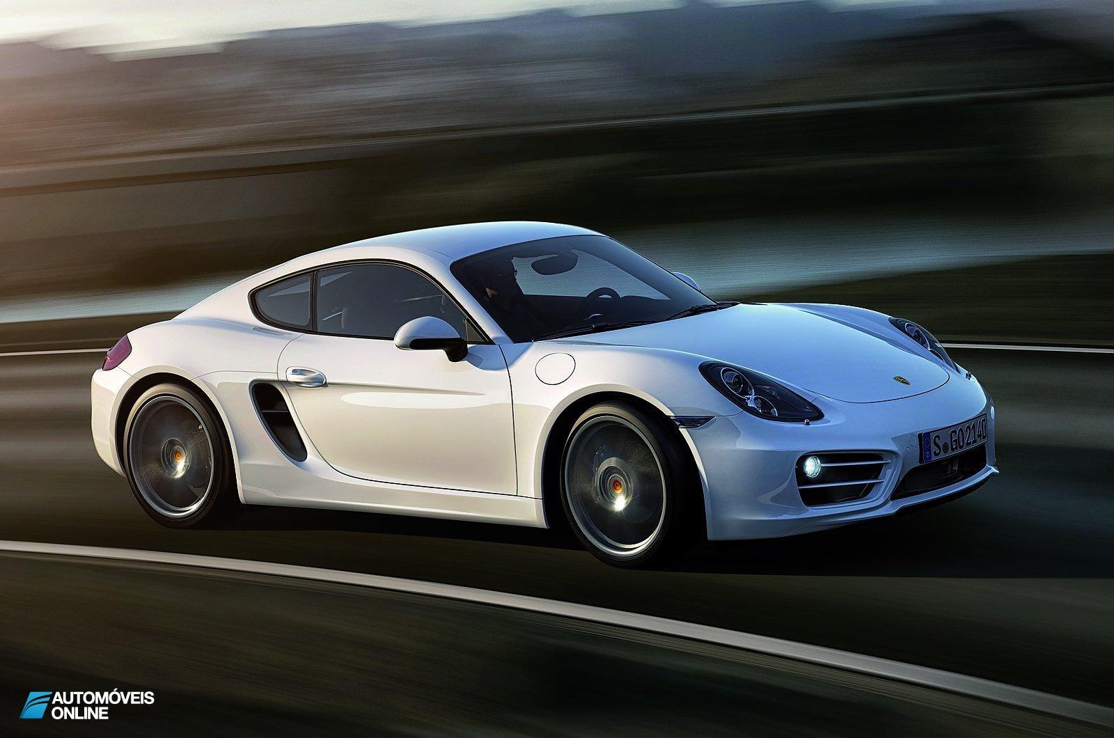 Novo Porsche Cayman 2013! Primeiras imagens
