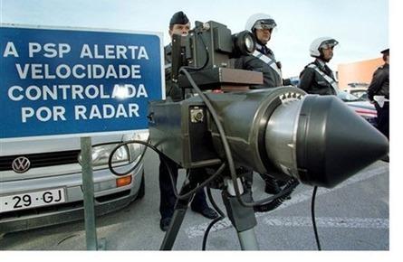 PSP anuncia! Localização de Radares no mês de Novembro