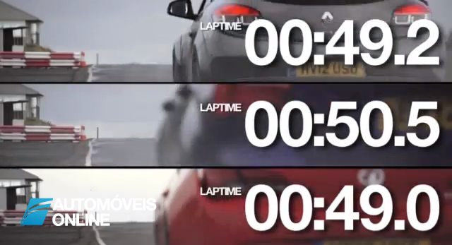Race! Ford Focus ST vs Megane Rs e Opel Astra OPC