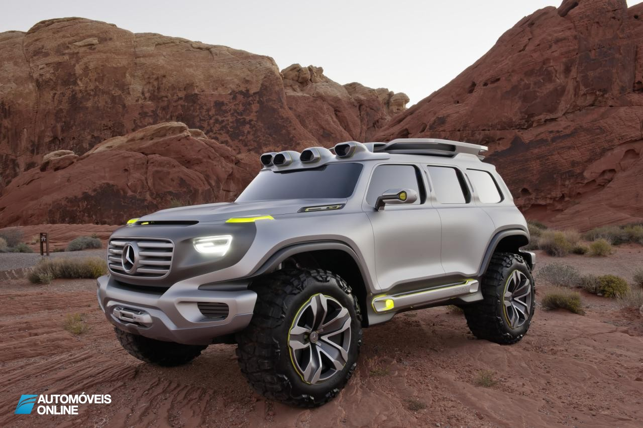 Suberbo! Concept-car Mercedes Ener-G-Force