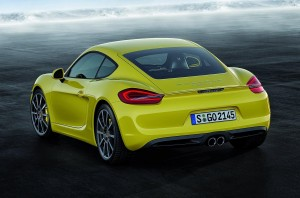 new porsche cayman 2013 rear view